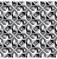 grid ornament vector image