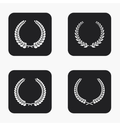 Modern quality icons set vector