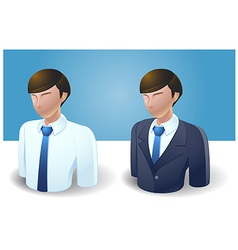 People Icons Businessman vector image