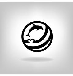 a fish vector image