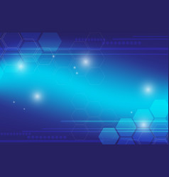 abstract blue background technology vector image vector image