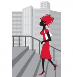 woman vector image vector image