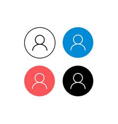 Design profile icon avatar vector