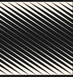 diagonal halftone stripes seamless pattern vector image