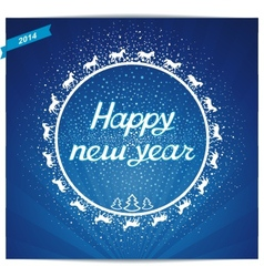 Happy New Year Card greeting vector