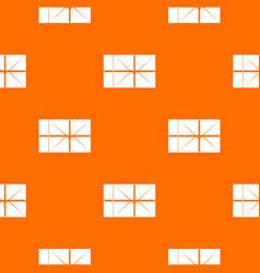 postal parcel pattern seamless vector image