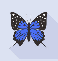 flat butterfly8 vector image vector image