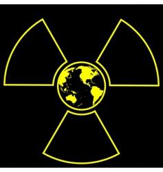 global radiation vector image vector image