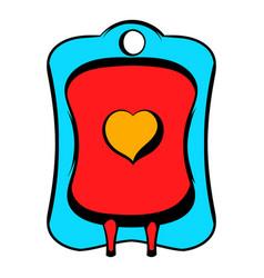 Donate blood icon icon cartoon vector