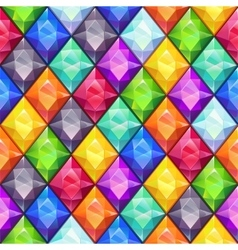 Cool bright colorful seamless pattern vector