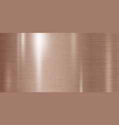 copper metal texture background vector image