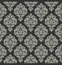 Damask seamless pattern for design vintage vector