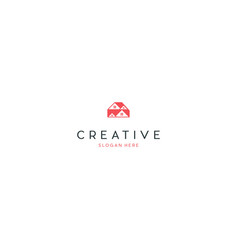 home property residential creative business logo vector image
