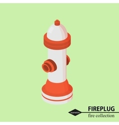 hydrant for fire fighting Isometric vector image
