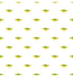 Marijuana on a paper pattern cartoon style vector