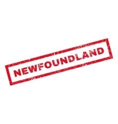 Newfoundland Rubber Stamp vector