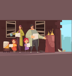 Poor man family composition vector