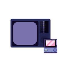 Technology video game design vector