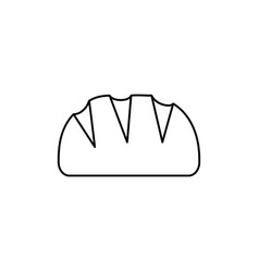 bread line icon sign on vector image vector image
