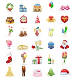 holidays vector image