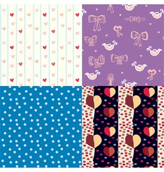 pattern for kids vector image