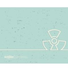 Creative radioactively art vector