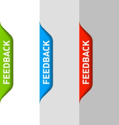 Feedback element vector