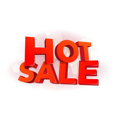 Hot sale 3d letters poster promotional marketing vector