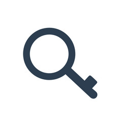 Keyword research icon vector