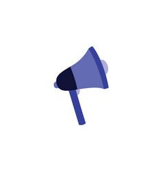megaphone speaker icon vector image