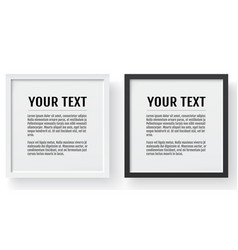modern frame mockup place for text photo gift or vector image