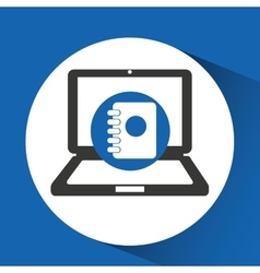 Pc and technology icon vector