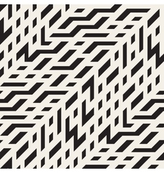 Seamless black and white diagonal techno vector