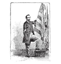 Sergeant thomas plunkett vintage vector