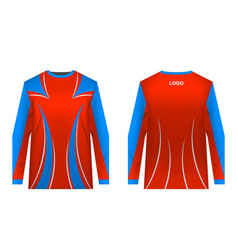Sportswear sublimation print vector