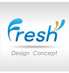FreshConcept vector image vector image