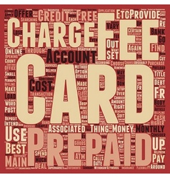 Prepaid Credit Cards How To Choose The Right vector image vector image