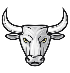 bull head vector image vector image