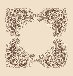 art frame 01k19 vector image
