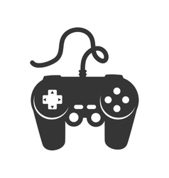 control game controller entretaiment play icon vector image