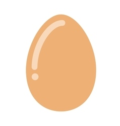 delicious egg hen isolated icon design vector image