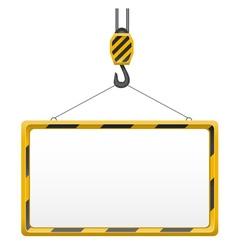 Hook for building crane 03 vector