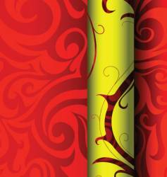 tribal wallpaper graphic design vector image