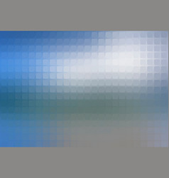 White blue shades abstract rounded mosaic vector