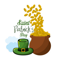 happy st patricks day icon vector image vector image