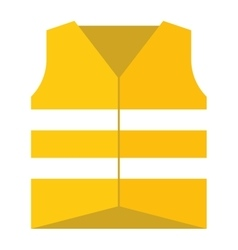 Protective vest vector image