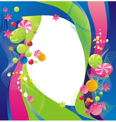 sweet celebratory design vector image vector image