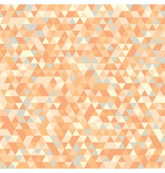 triangles pattern background vector image vector image