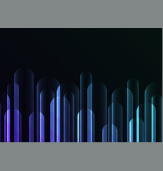 bubble rush overlap in dark background vector image