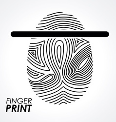 FingerPrint desi vector image